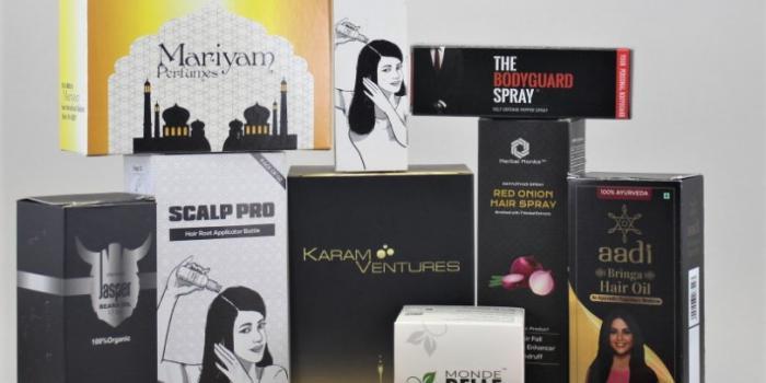 hair oil-soap-spray box